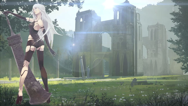 Nier Automata Fan Art Wallpaper 01 1920x1080: A2 NIER AUTOMATA V2.01 WALLPAPER ENGINE