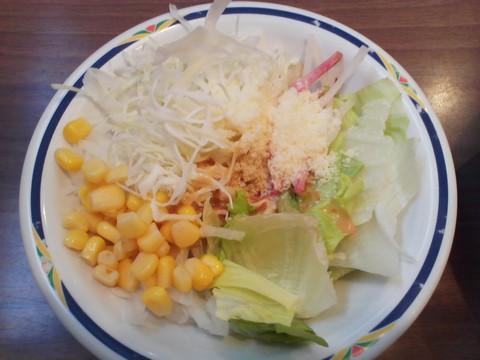 サラダ1 ステーキガスト一宮尾西店3回目