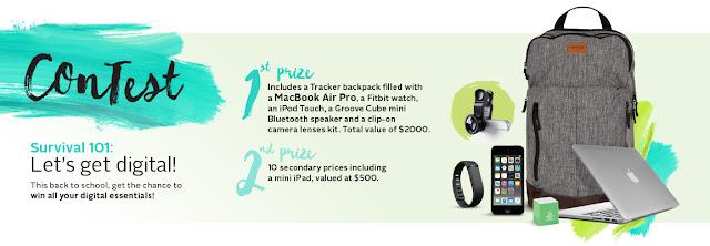 Backpack Prize Pack