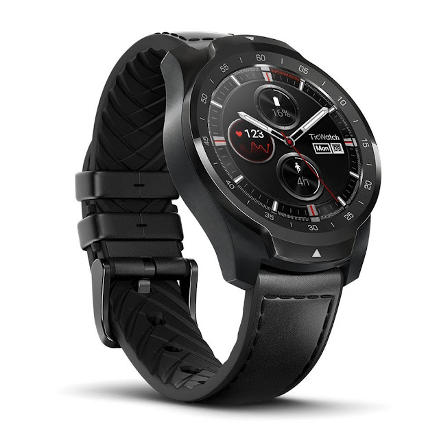 Review: Ticwatch Pro Dual Screen Smartwatch Works with Samsung Galaxy Mobile Phones