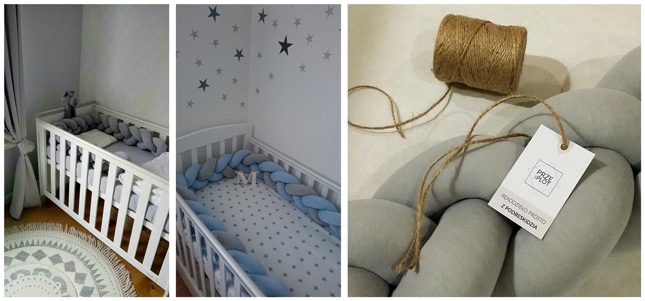 3 przesplot plecione poduszki dla dzieci dla dorosłych ochraniacze do łóżek dla noworodków dzieci maluchów antyalergiczne poduszki polska firma jakość opinie poduszki dla dzieci najmłodszych alergicy