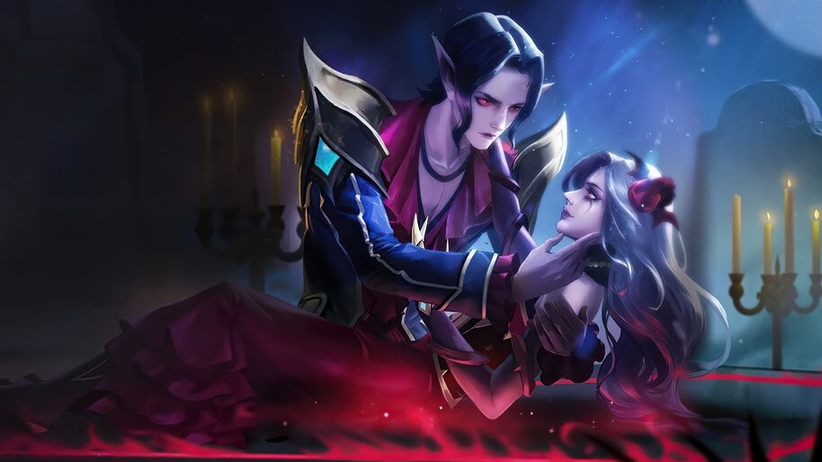 Cecilion and Carmilla, Mobile Legends, 4K, #7.1124