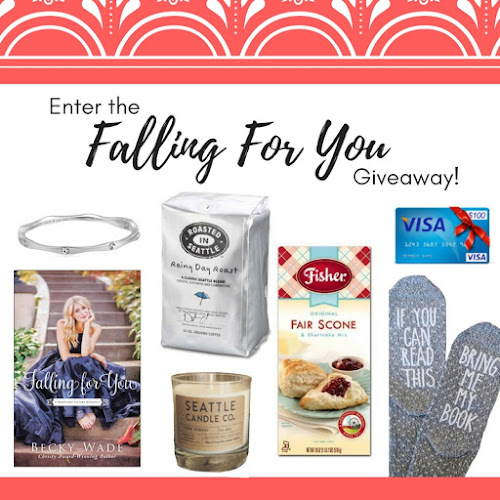 Falling for You giveaway graphic