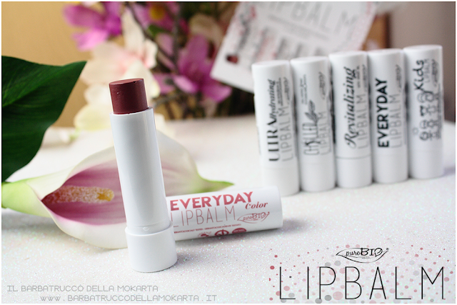 REVIEW everyday color  lipbalm balsamo labbra burrocacao Purobio recensione