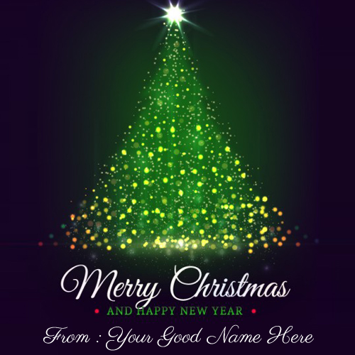 Christmas Tree 2017 Wishes Image