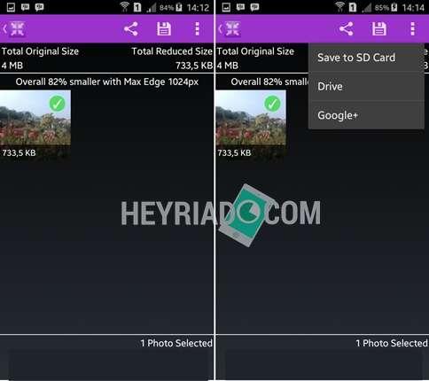 Aplikasi Kompres dan Memperkecil Ukuran Foto di Android
