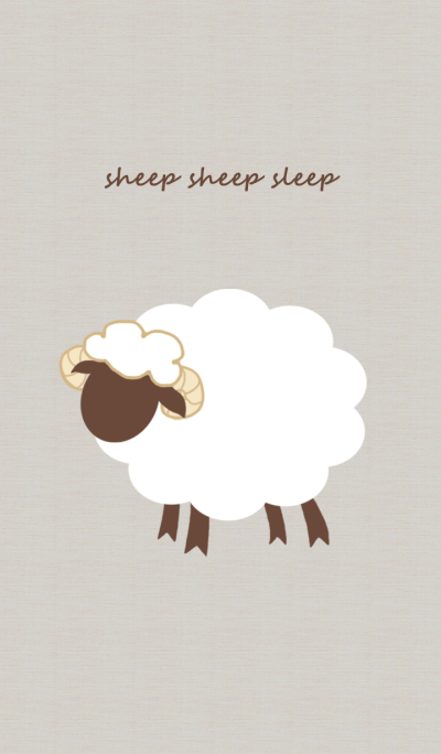 sheep sheep sleep *