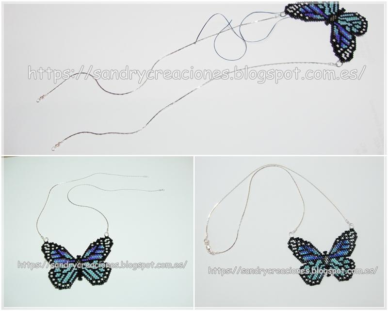 SanDryCreaciones: Colgante Mariposa Miyuki Delicas: Un regalo muy ...