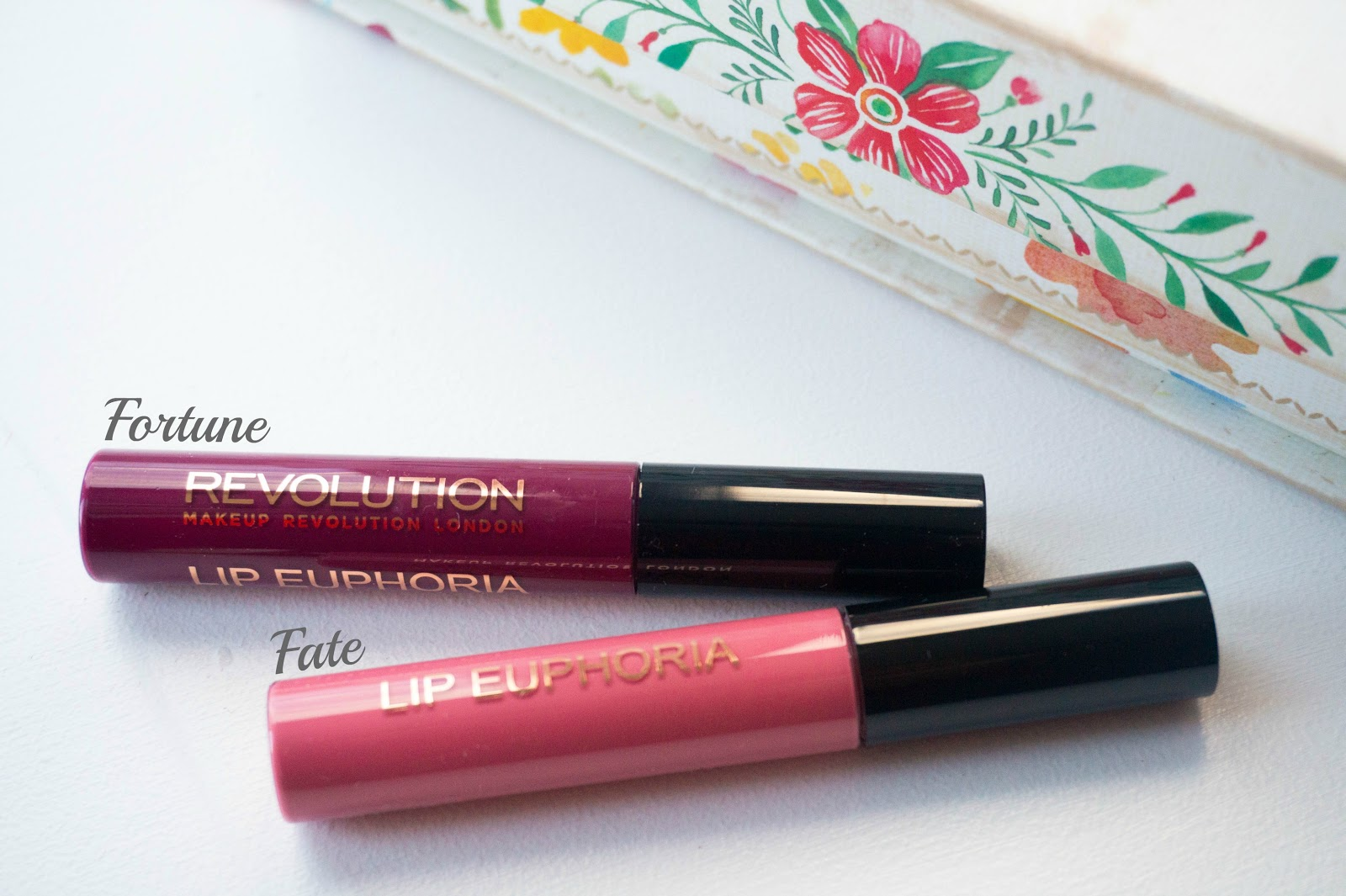 Makeup Revolution Lip Euphoria Fate, Fortune