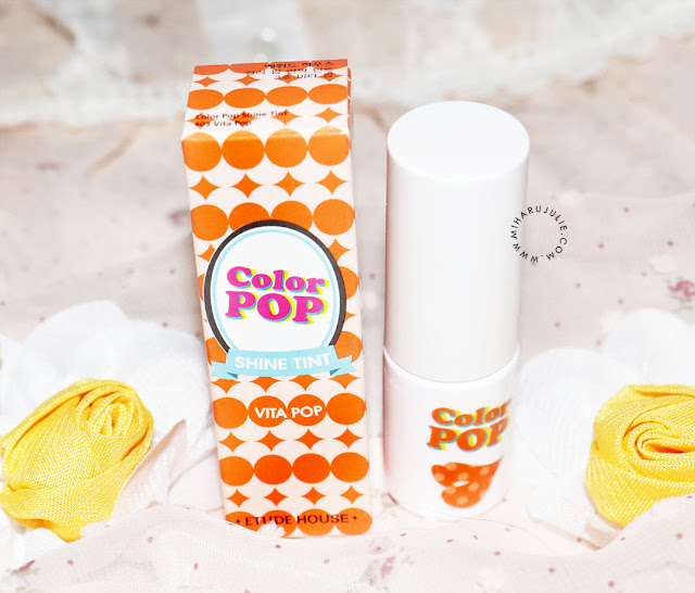 color pop shine tint mini review