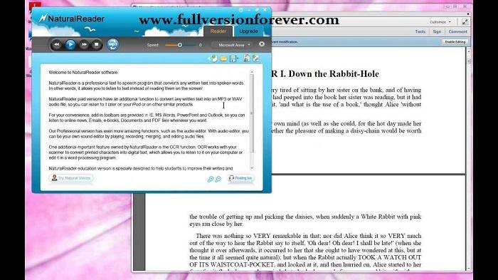 Word to speech converter free download