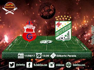 Guabirá vs Oriente Petrolero Fecha 18 Apertura 2017 - Super Milaneza - DaleOoo Facebook Club Oriente Petrolero