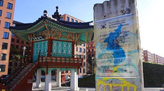 Curiosidades e mistérios de Berlim - Pavilhão Unificação em estilo coreano