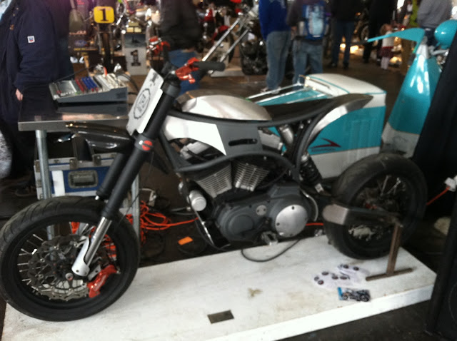A Buell engined super moto from TPJ Customs.