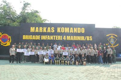 Berikut Pemenang Lomba Menembak Marine Shooting Club Lampung