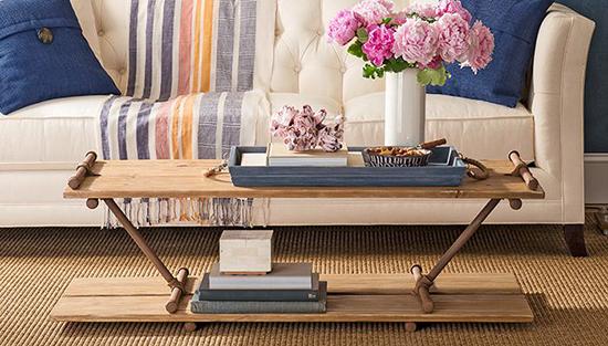 contoh meja unik menggunakan pipa besi