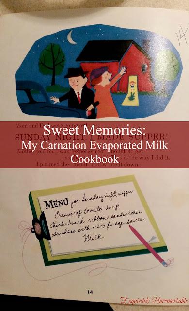 Carnation Evaporated Milk Recipe Book  Sweet Memories Of My Dad