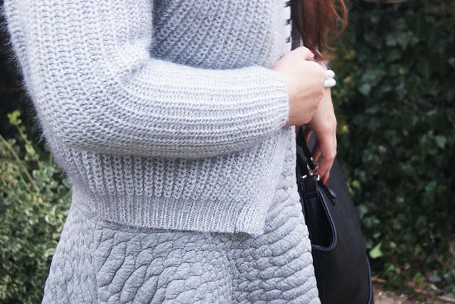 Loose Knit Grey Cardigan In Stock SKU:RKNI150905103