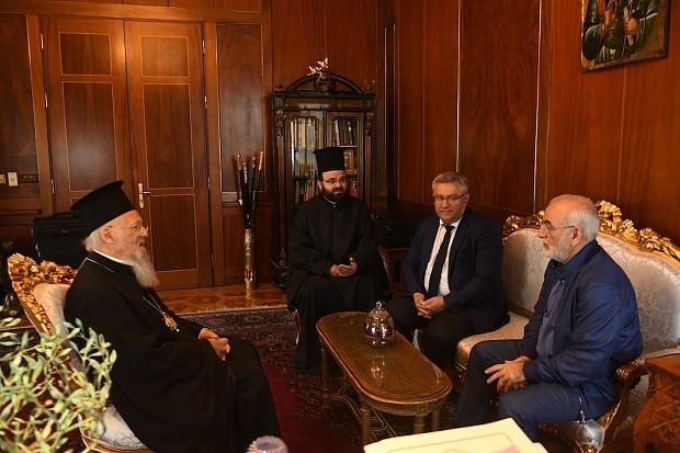 Με έντονο Ποντιακό ενδιαφέρον η συνάντηση Ιβάν Σαββίδη με τον Οικουμενικό Πατριάρχη Βαρθολομαίο