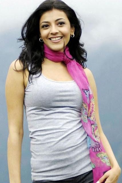 Kajal Agarwal cute smile face lips
