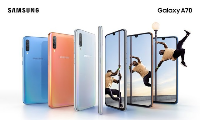 Samsung Galaxy A70 with Qualcomm Snapdragon 675 processor launched in India at Rs. 28,990