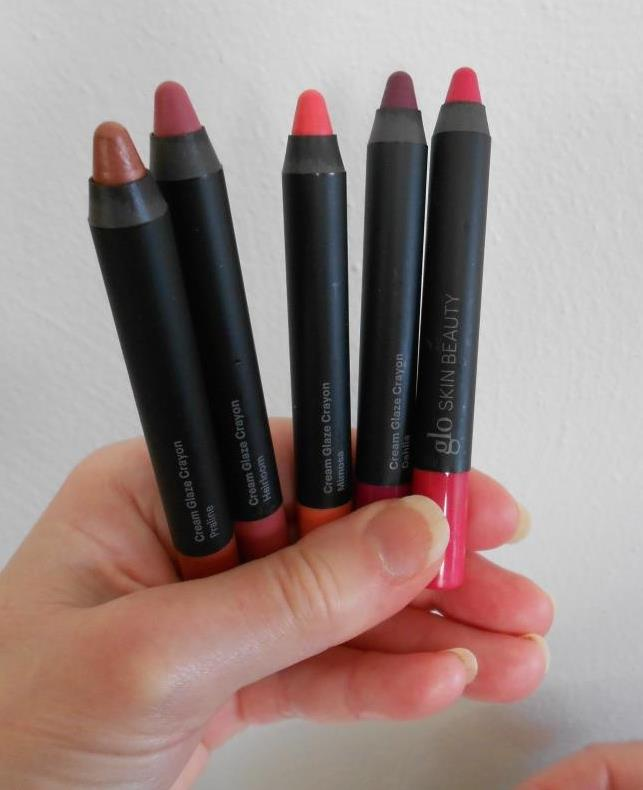 Glo Beauty Creamy Lip Crayons