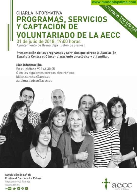 BREÑA BAJA: Charla Informativa de la AECC
