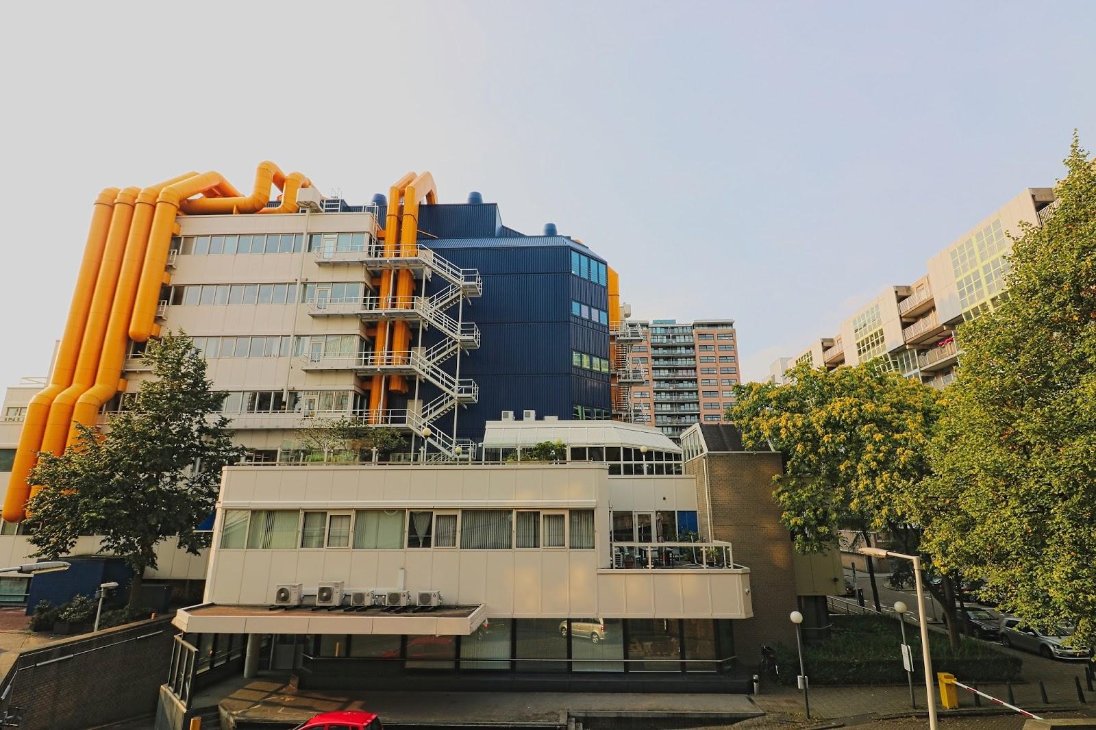 architektura, Holandia, modernistyczna architektura,