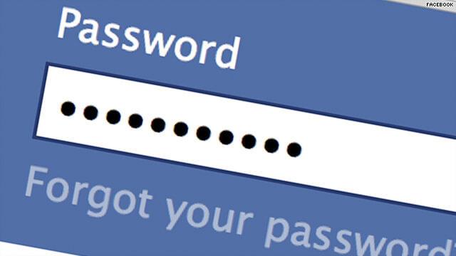 επαναφορά κωδικου στο Facebook