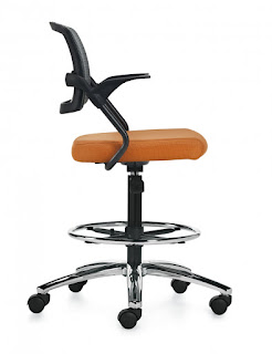Global Spritz Drafting Chair