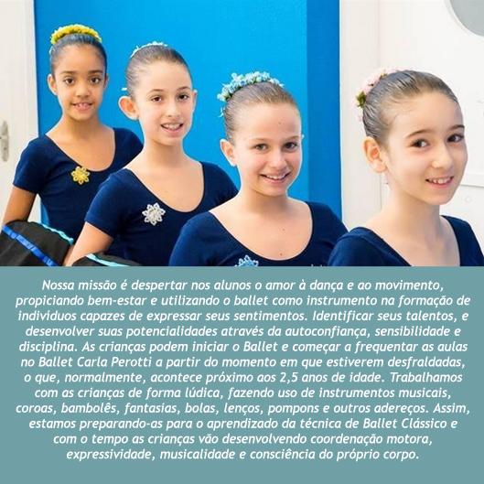 d9c6422e56 Mundo Bailarinístico  Ballet Carla Perotti - Mais de 40 anos de ...