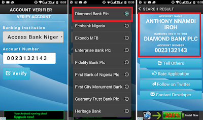 DOWNLOAD FILE: Verify Any Nigerian Bank Account [APK] Art