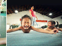 Demi Kejar Emas Olimpiade, Ternyata Ini yang Mereka Lakukan Kepada Anak-anak? Fotonya Bikin Merinding