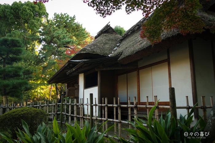 Pavillon de thé, jardin shukkei-en, Hiroshima-shi