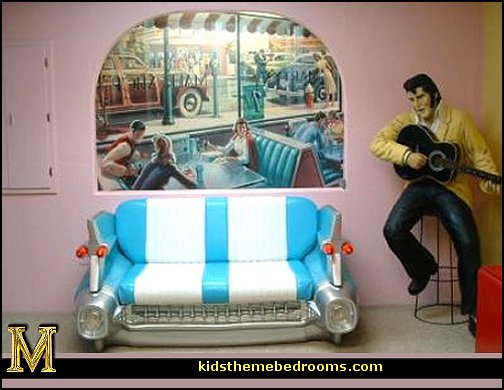 Cruise. Decorating theme bedrooms   Maries Manor  50s bedroom ideas   50s