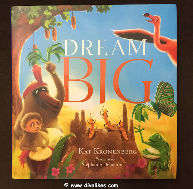 Children's Book Review Dream Big