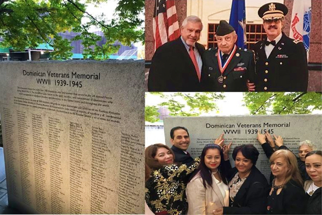 Inauguran monumento a dominicanos que combatieron en la Segunda Guerra Mundial