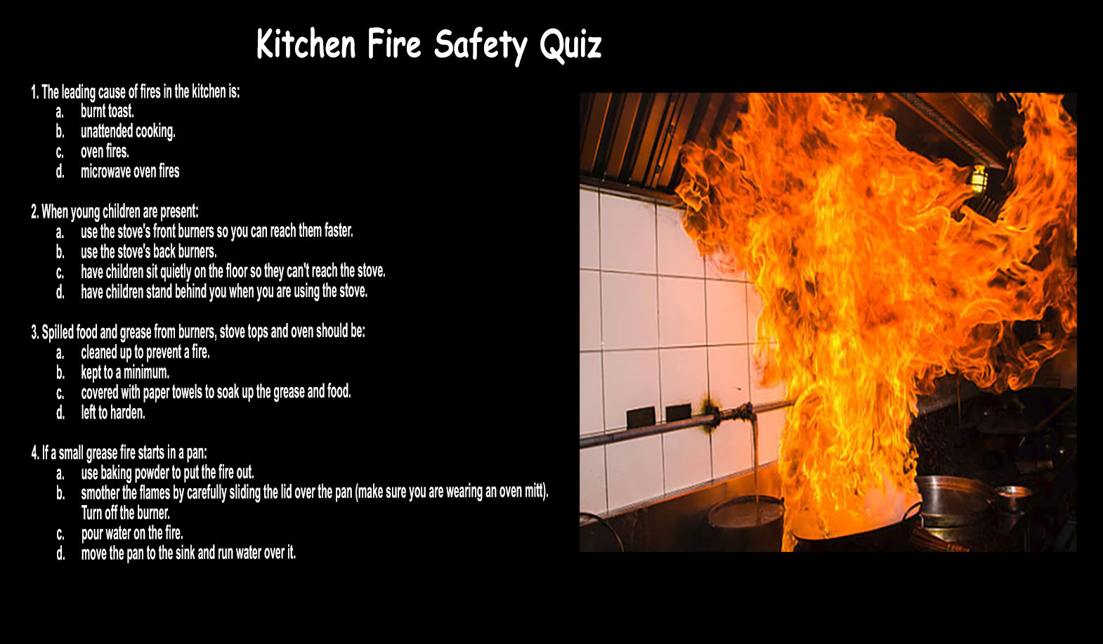 Dietitians online blog fire prevention week fire - How to put out a fireplace ...