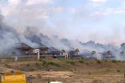 Tiga Lokal Villa BLK Internasional Lenek Lotim Ludes Dilalap Si Jago Merah