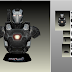 Papercraft Busto War Machine Civil War