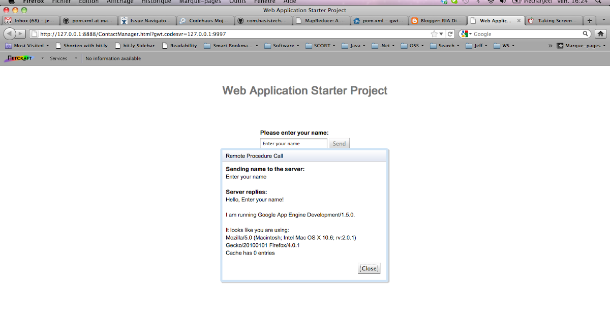 RIA Discussion: Tutorial: Maven GWT plugin, Google AppEngine