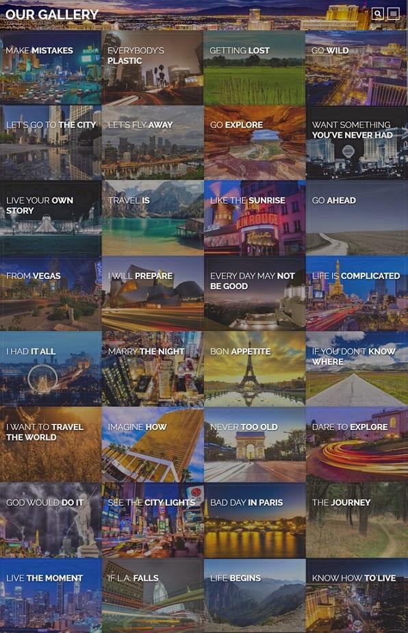 Responsive Travel Blog WordPress Theme
