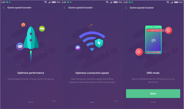 Mengaktifkan Game Speed Booster Pada MIUI 9 Global