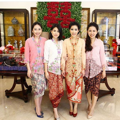 Inpirasi Kebaya Model Kutubaru Bordir