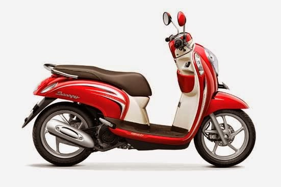 Honda Scoopy FI Stylish Vogue Red