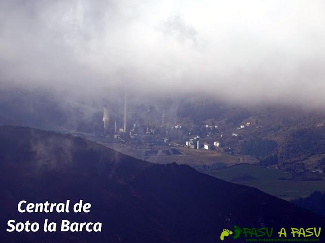 Central de Soto de la Barca desde La Rozada