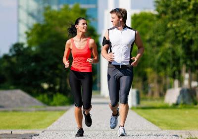 menjaga pola hidup sehat dengan kekasih