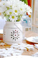 Snowflake Winter Tablescape