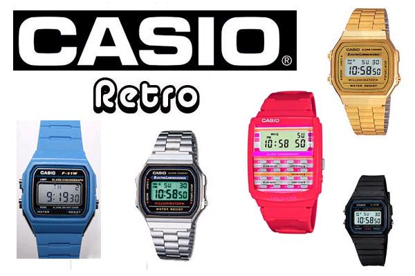 Vintage Casio Watches