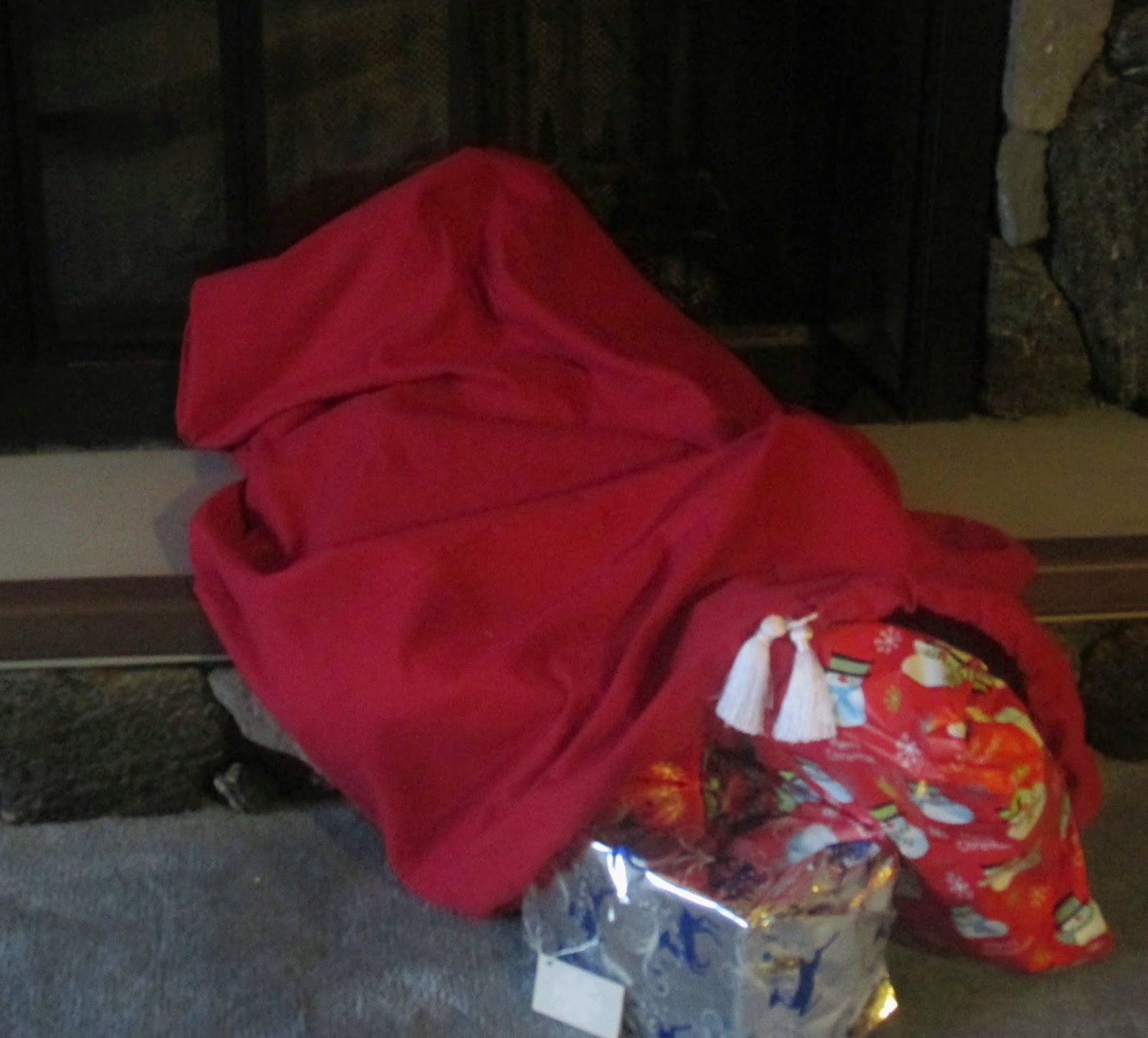 Santa Bag full of Presents